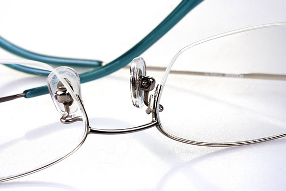 semi-rimless eyeglasses